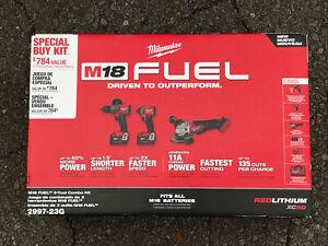 Milwaukee 2997-23g M18 FUEL Lithium-Ion Brushless Cordless Combo Kit *FREE SHIP*