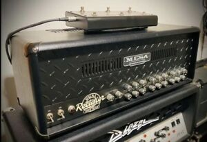 Mesa Boogie Dual Rectifier Black Grille Custom Shop Multi-Watt 100/50 Head 240v