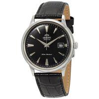 Orient FAC00004B 2nd Gen. Bambino Version 1 Automatic Black Leather Men's Watch