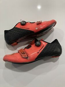 Bontrager Velocis Carbon Road Cycling Shoes Size 44 Euro 11 US