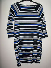 French Connection Striped T-Shirt Style Dress/Long Top Size 14
