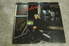 Gordon Lightfoot - Signed Salute Album cover with vinyl and JSA Cert
