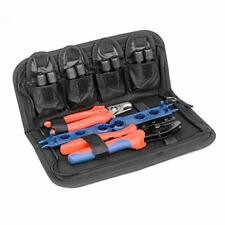 Crimping Tool Kit with Wire Cable Cutter