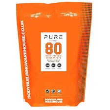 100% proteína en polvo de suero leche concentrarse wpc80 Sacudir BEBIDA - 5kg (