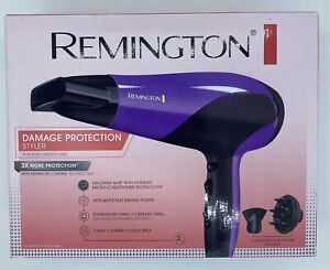 Remington D3190 Hair Dryer 1875W Ionic Ceramic Tourmaline Technology BNIB