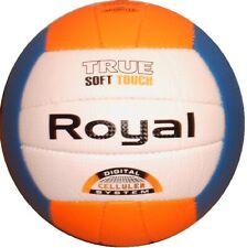 Volleyball Soft handgenäht orange/weiß/blau