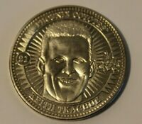 """1997-98 Pinnacle Mint Collection Hockey Coin #21 """"Keith Tkachuk"""" Nickel/Silver"""