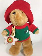"Paddington Bear Plush Teddy Darkest Peru 1995 Sears Vintage London England 16"""
