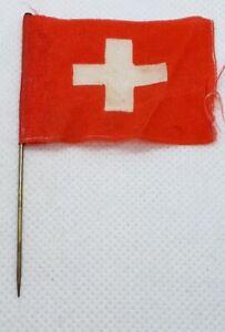 Switzerland, Swiss old vintage flags, pin, badge !