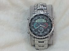 CITIZEN Promaster Chronograph Yacht Timer C050 All Stainless Steel Men's Watch
