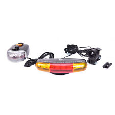 3 in 1 7 LED Licht Fahrrad Blinker Bremslicht Hupe WZ