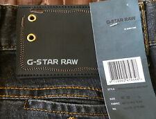 Superb BNWT G-Star Space Nomads Jack Pant Denim Jeans. 32W x 32L. (T1287)