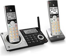 AT&T Expandable Cordless Phone Answering System DECT 6.0 Call Block 2 Handsets