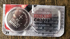 CR2032 2032 3V Lithium Coin Battery Maxell Single (pack of 1)