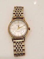 Vintage 14k solid gold Tressa watch 25J automatic