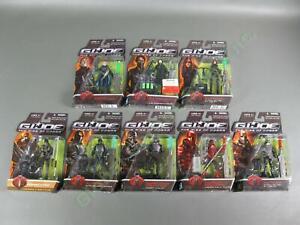 8 2009 GI Joe Rise of Cobra Elite Crimson Neo Desert Commando Viper Baroness LOT