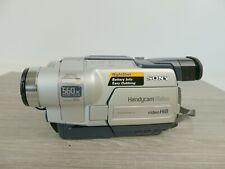 SONY HANDYCAM VISION CCD-TR218E PAL Video Hi8 560x Digital Zoom Bag, Charger  |9