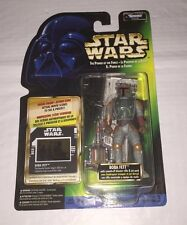 Star Wars: Boba Fett Freeze Frame Power of the Force (POTF) MOC (Canadian Card)
