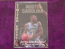 1996 Signature Stars - Jerry Stackhouse Limited Edition - Rookie Card - SEE PICS