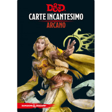 Dungeons & Dragons - Carte Incantesimo Arcano - Lingua Italiana
