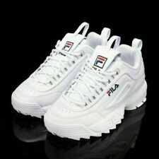 FILA Disruptor II ladies fashion sneakers classic all-match casual running white