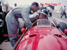 Mike Hawthorn Ferrari Dino 246 British Grand Prix 1958 Photograph 1