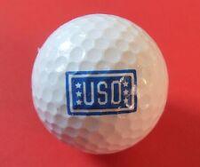 Pelota de golf con logo-uso-United Service Organizations-estados unidos Army golf logotipo Ball