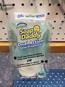 Soap Daddy Dual Action Dispenser - Style Collection In Hand By Scrub Daddy