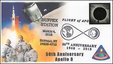 18-028, 2018, Apollo 8, 50th Anniversary, Event Cover, Pictorial Postmark