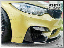 2015+ BMW F80 M3 F82 F83 M4 JPM STYLE CARBON FIBER FRONT BUMPER EYELIDS COVER