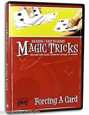 Easy To Learn Forcing A Card Techniques DVD Magic Makers Trick