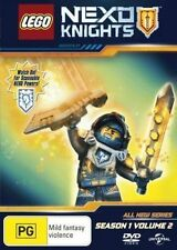 LEGO NEXO KNIGHTS : SEASON 1 part 2 (english cover) - DVD - UK Compatible sealed