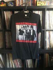 Vtg 1989 Rolling Stones Steel Wheels Tour T-Shirt Large L Black Single Stitch