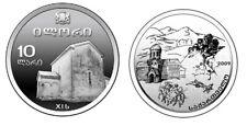 Georgia 10 Lari 2009 Saint George Church Ilori Silver Proof TOP Collector Coin