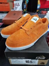 Vintage 2011 SUPREME X LAKAI MIKE CARROLL Suede Burnt Orange