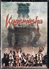 Akira Kurosawa: KAGEMUSHA sombra del guerrero España tarifa plana envíos DVD 5 €