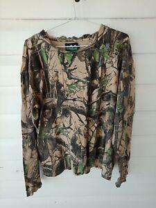 Men's Ridgeline Camo Camouflage Shirt Long Sleeve Xl