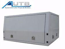 Aluminium Ute Canopy LIFTOFF 1800mm X1800mm 3 Door 2.5mm Checkerplate