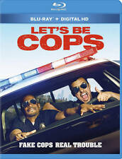 Lets Be Cops (Blu-ray Disc, 2014, Includes Digital Copy Ultraviolet) - NEW!!