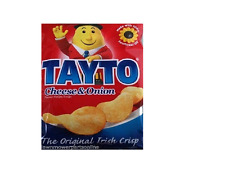 Tayto Cheese and Onion Crisps from Ireland 25 x 25g packs