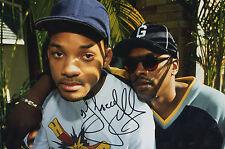 DJ JAZZY JEFF - RARE PERSONNELLEMENT signé 12x8 - FRAIS Prince Star (B)