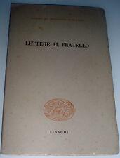 RODOLFO MORANDI Lettere al fratello : 1937-1943 EINAUDI