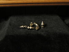 """Cone Shaped Studs 6 Stainless Steel 3/8"""""""