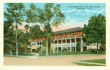 Hammond,LA. x The Main Entrance to the Oaks Hotel