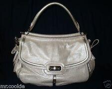 NEW COACH Flagship Leather Dowel Flap Gold Carryall Handbag F17782 $798 Purse