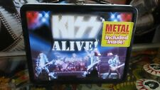 Kiss Alive! metal lunch Box + Thermos New 2001 only 8000 Made World-wide!!!