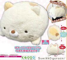 San-x Sumikko Gurashi Neko Cat Fluffy Plush Face Down Super Soft Jumbo Stuffed