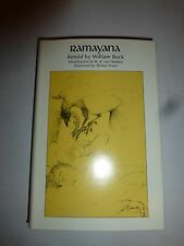 Ramayana by William Buck, HBDJ 1969 First Edition  Rare Book B222
