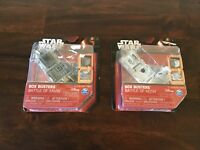 Lot of 2 Disney Star Wars Box Busters Battle of Hoth & Battle of Yavin New
