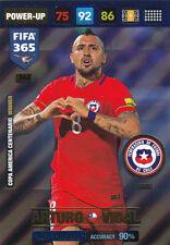 Panini Adrenalyn Fifa 365 2017 -  Vidal   Key Player  #368